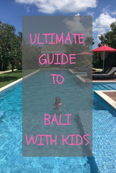 Our Bali with kids guide has tips on what to pack, where to stay in Bali and activities to do with kids in Bali. Bali with kids can be an awesome holiday. Toddler Travel, Travel With Kids, Family Travel, Bali With Kids, Bali Accommodation, Kids Things To Do, Bali Holidays, Amazing Destinations, Travel Destinations