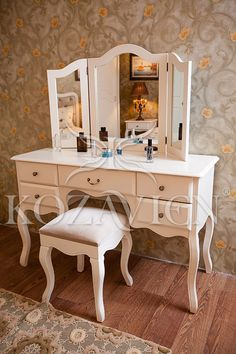 Country Bedroom -Kozavien presents its designs created with different materials and colors to your liking. Classic Bedroom Furniture, Wardrobe Furniture, Furniture Showroom, Dressing Table Vanity, Makeup Table Vanity, Cheap Furniture, Home Furniture, Furniture Design, Kids Bedroom