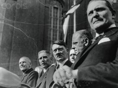 Adolf Hitler and His Officials at Ceremony - U650200INP - Rights Managed - Stock Photo - Corbis. March 29, 1933
