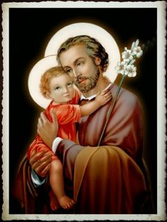 Catholic Art, Catholic Saints, Roman Catholic, Religious Art, St Joseph, Religion Catolica, Religious Pictures, Les Religions, Blessed Virgin Mary