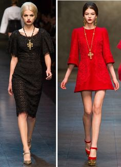 Dolce and Gabbana Fall 2013 Byzantine Collection is totally up my alley.