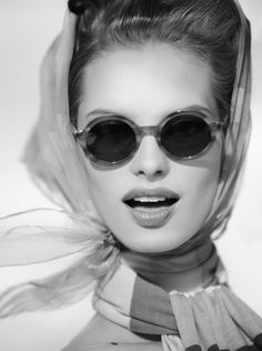 Retro shades - in black & white.