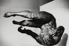 Eric Fischl, 'Tumbling Woman'. Photo by Ralph Gibson.