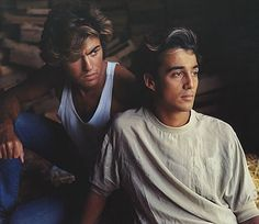 Wham! (George Michael and Andrew Ridgley) my all time favs!