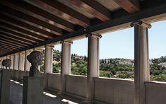 A Tale of Two Stoas - Greece Is Greece, Windows, Greece Country, Ramen, Window