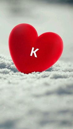 K for 💓💓