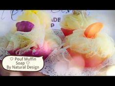 Bath Pouf Muffin Soap - YouTube