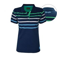 WRANGLER ADALIA POLO NAVY $79.95 This womens Wrangler Adalia shirt will go great with anything!