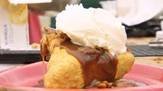 Deep fried pecan pie, I want you NOW!