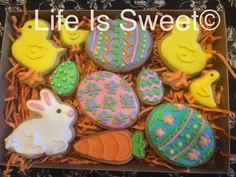 Easter cookies at lifeissweetcookie