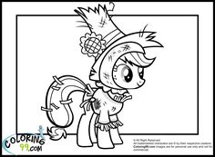My Little Pony Free Coloring Pages Little Pony Coloring Pages - nightmare moon coloring pages