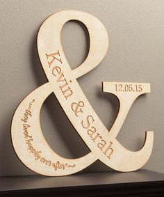 Look at this #zulilyfind! Happy Couple Personalized Wall Plaque by Personalized Planet #zulilyfinds