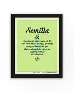 VNF Semilla Script ( facebook.com/ilovevietfont)
