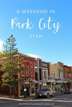 Where to eat, shop, and explore in Park City, Utah in a weekend. // Family Travel | Travel with Kids | Fall Travel | Leaf Peeping | What to Do | Where to Eat | Day Trip | Weekend Trip | Ski Vacation | Best Small Towns in America | The West | US Travel