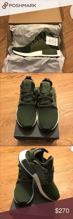 Nmd XR1 PK Olive Green Brand new in box XR1 olive green || 100% authentic || shame on fakes || US 5 men/ EU 37.3 women / US 6  || sold out everywhere || very nice color || Adidas Shoes Athletic Shoes