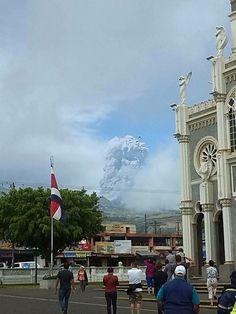 Eruption of Turrialba volcanoe March 12 2015