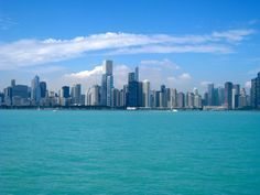 Chicago bay and Skyline