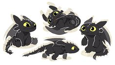 Toothlets by hope-for-da-snow ...  How to train your dragon, toothless, night fury, dragon