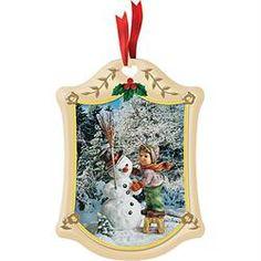M.I. Hummel Christmas Ornaments - The Danbury Mint
