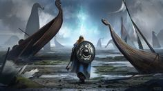 Viking cataclysm by conorburkeart on @DeviantArt