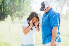 Beautiful Baby Gender Reveal // IVF // It's a girl // Shelby Lea Photography
