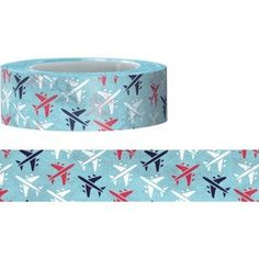 Airplane Washi Tape 15M by pikwahchan on Etsy, $3.10