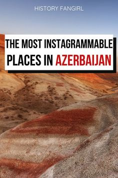 Looking for the best photo spots in Azerbaijan? Here are my recommendations f. Albania, Beautiful Places To Visit, Cool Places To Visit, Guide Amsterdam, Travel Guides, Travel Tips, Azerbaijan Travel, Romantic Travel, World Heritage Sites