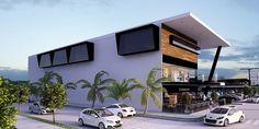 SPV Arquitectos   PLAZA COMERCIAL