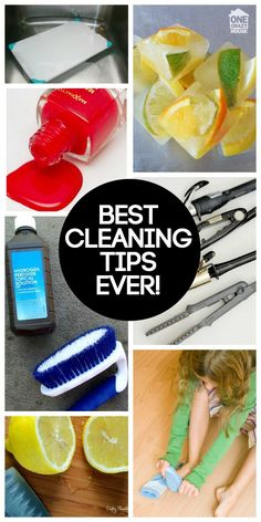 Get your house looking spotless with super easy cleaning hacks you'll wish you had known sooner.