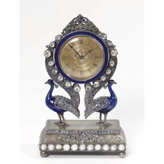 A jewelled and enamelled silver timepiece, apparently unmarked, Austro-Hungarian, circa 1900 - Sotheby's