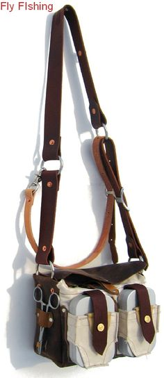 Fly Fishing Bag: Creel Style  #wishlist