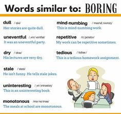 Words: Boring