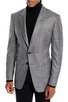 It's possible to stop wanting to know what you should put on to operate to look as stylish while you do out the workplace. Plaid Blazer, Blazer Jacket, Indian Men Fashion, Men's Fashion, Fashion Suits, Winter Fashion, Tom Ford Men, Tom Ford Suit, Moda Casual