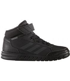 Adidas Kinder Indoorschuhe AltaSport Mid El K adidas All Black Sneakers, Shoes, Fashion, Adidas Kids, Nike Kids, Fitness Shoes, Black Adidas, Moda, Zapatos