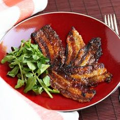 Mango-Glazed Bacon ~ come and see the closeups