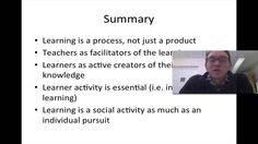 Summary - LTHE 2.1 Theories of Teaching and Learning