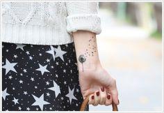 35 Kick-Ass Dandelion Tattoo Designs