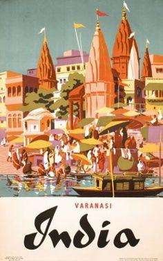 India - Varanasi - 1957 -
