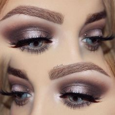 33 Most Magical Makeup Ideas for Gray Eyes Loading. 33 Most Magical Makeup Ideas for Gray Eyes Grey Eye Makeup, Makeup For Green Eyes, Eye Makeup Tips, Smokey Eye Makeup, Beauty Makeup, Makeup Ideas, Bridal Makeup For Blue Eyes, Makeup Tutorials, Eye Makeup Blue Dress
