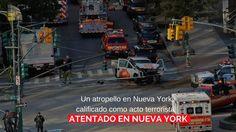 Un atropello en Nueva York, calificado como acto terrorista