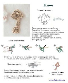 Crochet Applique - Key Diagram [I had 2 click TRANSLATE so I could read it in English but OH BOY there's tons of cute crochet applique's]