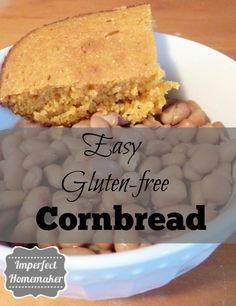 Easy gluten free cornbread