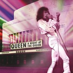 "L'album dei #Queen intitolato ""Night At The Odeon - Hammersmith 1975"" in formato jewelcase."