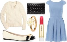 sweet daisy chain by peppahwood featuring Madewell  Dorothy Perkins prom dress / Madewell clothing / C. Wonder evening shoes / Marc by marc jacobs ring / Paul Joe lipstick