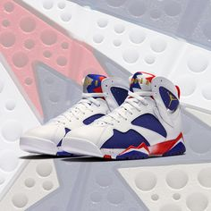 hot sale online f9fda 50c6c A twist on the iconic Air Jordan 7 that Michael Jordan wore during the  historic summer
