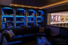 Smoking lounge at Hotel de Rougemont in #Switzerland #HotelRougemont