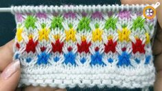 Very Easy Knitting Design. Easy 4 Row Multicolor Knit Pattern for Baby Apparel / Ladies Cardigan / Coats. – The best ideas Baby Knitting Patterns, Knitting Designs, Embroidery Patterns, Crochet Patterns, Easy Knitting, Knitting For Beginners, Loom Knitting, Knitting Stitches, Knifty Knitter