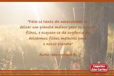 #Sustentabilidade #TapetesSaoCarlos