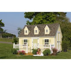 Found it at Wayfair - Cape Cod 8x10 Playhouse