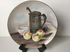 Vintage Decorative Decorator Plate Made in by FindingYesterday